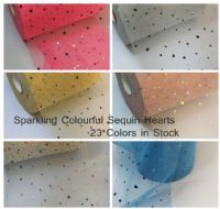 Sparkling Hologram Sequin | Star & Moon | Hearts | Soft Tulle Wholesale